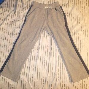 Carter 7 boys grey w/navy blue sweatpants